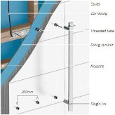 Radiant Heated Towel Rail Technical Specifications & Installation ...